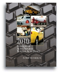 Commercial Auto Program - Business Auto Policy -2010