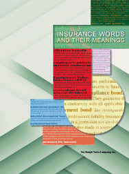 Insurance Words & Their Meanings
